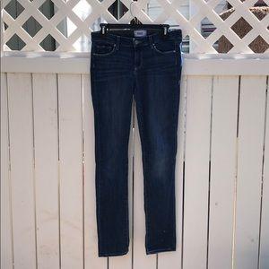 Paige Skyline Skinny Jeans in Raya